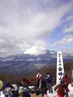 今の富士山